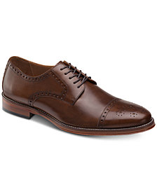 Johnston & Murphy Men's Dempsey Cap-Toe Oxfords