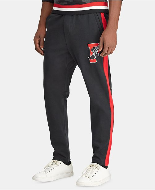 Polo Ralph Lauren Men's P-Wing Cotton Interlock Active Pants, Created for Macy's