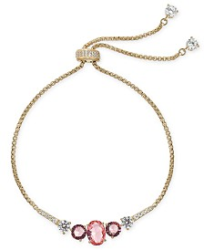 Eliot Danori Crystal Stone Slider Bracelet, Created for Macy's
