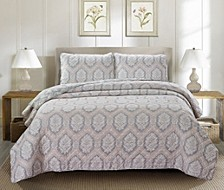Stanford 3 Piece Quilt Set Full/Queen