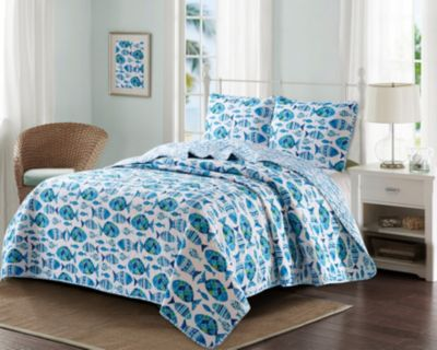 Welcome Cove 3 Piece Quilt Set Full/Queen