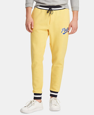 Men's Double Knit Graphic Jogger Pants, Created For Macy's by Polo Ralph Lauren