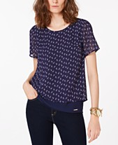 1550d8434 Michael Kors Womens Tops - Macy s