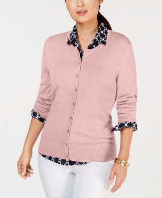 Long-Sleeve Button-Front Cardigan, Created for Macy's