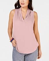 4e6ae2644ea Women s Petite Tops - Blouses   Shirts - Macy s