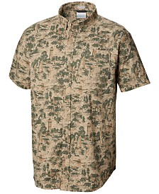 Columbia Men's Rapid Rivers Printed Short Sleeve Shirt