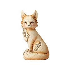 White Woodland Fox