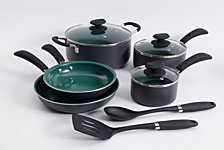Gibson Home 10-piece Hummington Aluminum Cookware Set