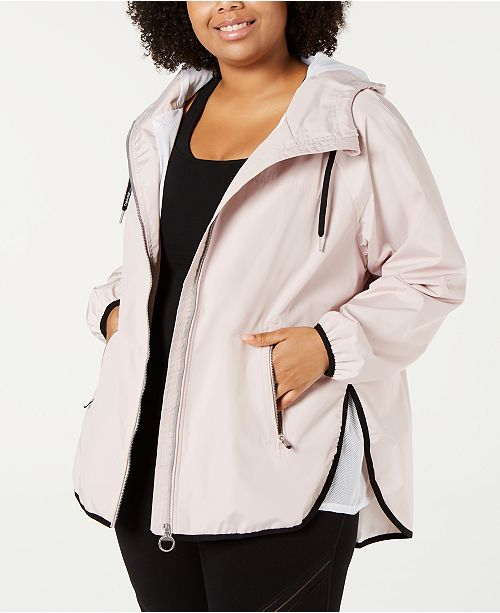 Calvin Klein Plus Size Cross-Over Back Jacket