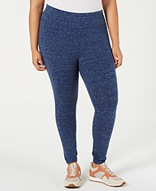 Plus Size Tummy-Control Leggings, Created for Macy's