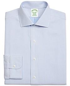 Men's Milano Extra-Slim Fit Diamond Dobby Dress Shirt