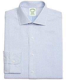 Brooks Brothers Men's Milano Extra-Slim Fit Diamond Dobby Dress Shirt