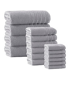 Enchante Home Veta 16-Pc. Turkish Cotton Towel Set