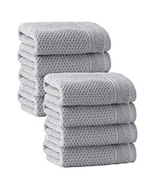 Veta 8-Pc. Wash Towels Turkish Cotton Towel Set
