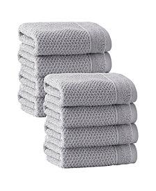 Enchante Home Veta 8-Pc. Wash Towels Turkish Cotton Towel Set