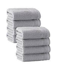 Enchante Home Veta 8-Pc. Wash Towels Turkish Cotton Towel Set