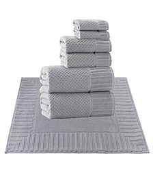 Timaru 8-Pc. Turkish Cotton Towel Set