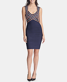 GUESS Open-Back Bodycon Dress