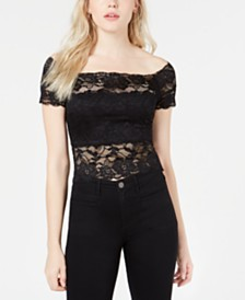 GUESS Sheryll Lace Top