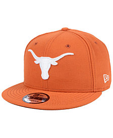 New Era Texas Longhorns Core 9FIFTY Snapback Cap