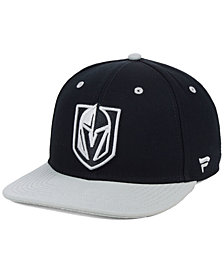 Authentic NHL Headwear Vegas Golden Knights Blackout Emblem Snapback Cap