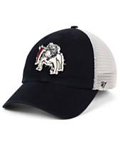 5166942240455  47 Brand Georgia Bulldogs Stamper CLOSER Stretch Fitted Cap