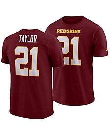 Men's Sean Taylor Washington Redskins Pride Name and Number Wordmark 3.0 Retired Player T-Shirt