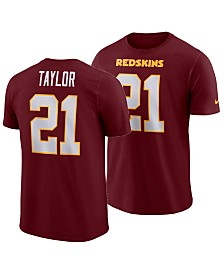 Nike Men's Sean Taylor Washington Redskins Pride Name and Number Wordmark 3.0 Retired Player T-Shirt