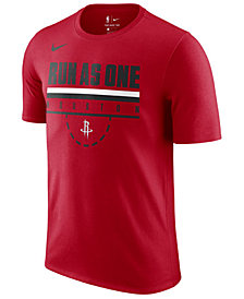 Nike Men's Houston Rockets Team Verbiage T-Shirt