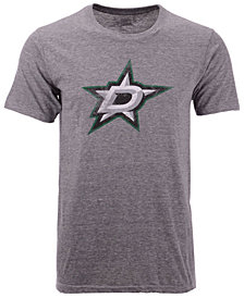 Majestic Men's Dallas Stars Tri-Blend Team Logo T-Shirt