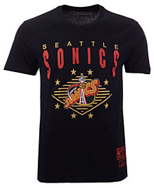 Mitchell & Ness Men's Seattle SuperSonics Floater T-Shirt