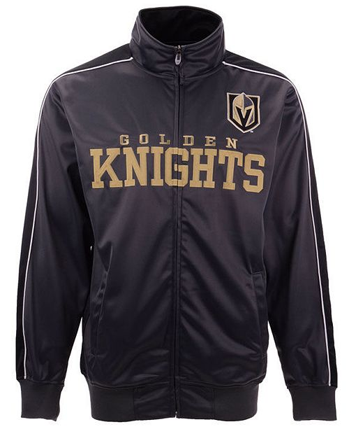 Profile Men's Vegas Golden Knights Heritage Track Jacket