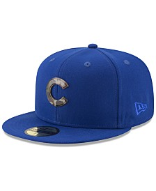 best sneakers 5dcdf fca00 New Era Chicago Cubs Camo Capped 59FIFTY-FITTED Cap