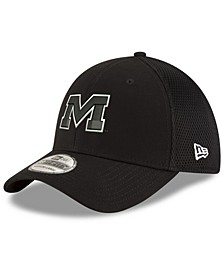 Ole Miss Rebels Black White Neo 39THIRTY Cap