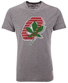 Retro Brand Men's Ohio State Buckeyes Mock Twist Vault Logo T-Shirt