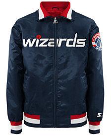 G-III Sports Men's Washington Wizards Starter Captain II Satin Jacket