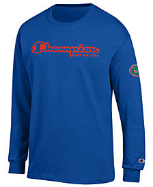 Champion Men's Florida Gators Co-Branded Long Sleeve T-Shirt