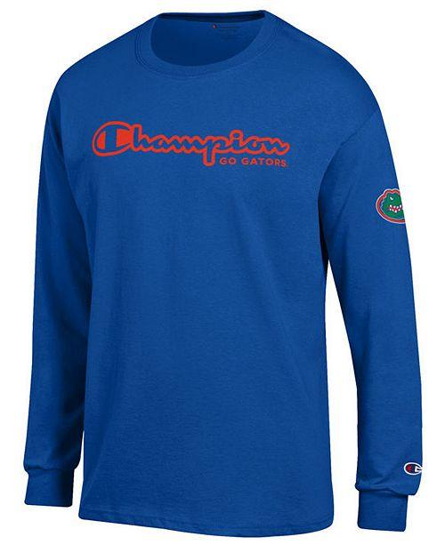 Champion Men's Florida Gators Co-Branded Long Sleeve T-Shirt