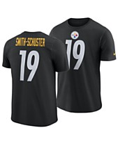 9dfc02c0f Nike Men s Juju Smith-Schuster Pittsburgh Steelers Player Pride Name and  Number Logo 3.0 T
