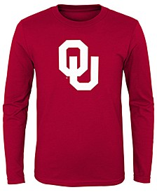 Oklahoma Sooners Primary Logo Long Sleeve T-Shirt, Little Boys (4-7)