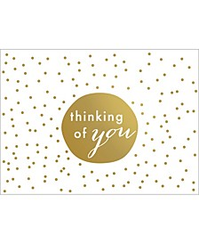 Tiny Dots Thinking You Note Boxed Cards