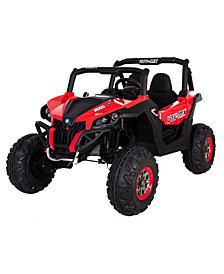 12 Volt Two Seat Battery Operated Wild Cross Utility Task Vehicle