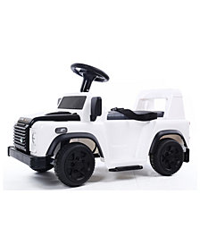 Battery Operated Land Rover Rideon