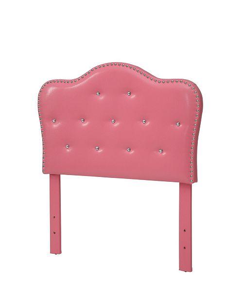 Furniture of America Karla Twin Tufted Headboard