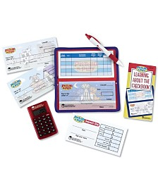 Learning Resources Pretend and Play Checkbook with Calculator