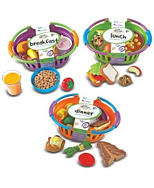 Learning Resources New Sprouts Bundle of Breakfast Lunch and Dinner