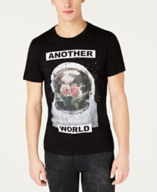 GUESS Men's Another World Graphic T-Shirt