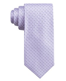 Ryan Seacrest Distinction™ Men's Vigo Neat Slim Silk Tie, Created for Macy's