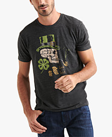 Lucky Brand Men's Leprechaun Skull Graphic T-Shirt
