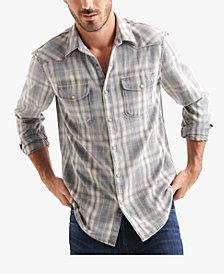 Lucky Brand Men's Plaid Dual Pocket Shirt